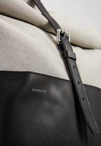 Sandqvist - ANTONIA - Rucksack - grey/black - 3