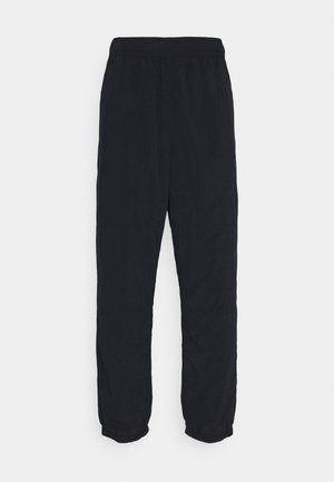 NOVELTY TRACK PANT UNISEX - Tracksuit bottoms - black