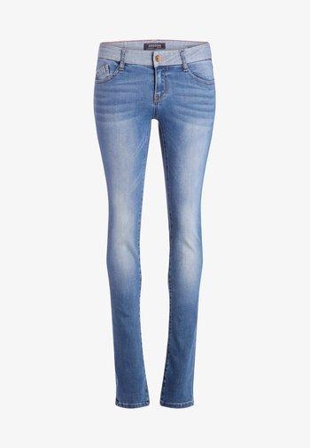 DAMEN - Slim fit jeans - stone blue denim