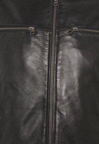 Goosecraft - BIKER  - Kožená bunda - black - 6