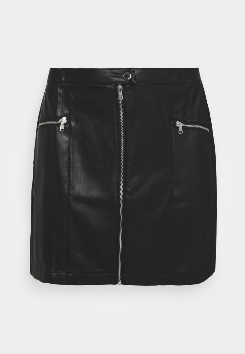 Simply Be - MINI SKIRT - Mini skirt - black
