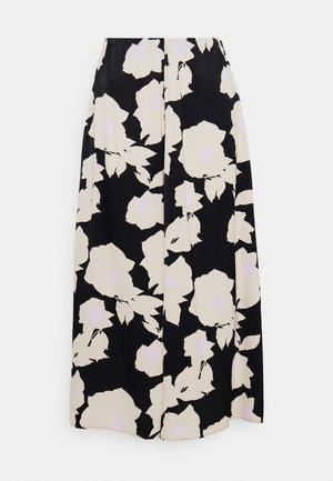 SYKLAAMI JÄÄROUVA SKIRT - A-line skirt - black/offwhite/rose