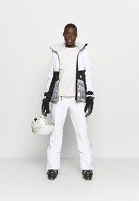 Icepeak - CHASE - Ski- & snowboardbukser - optic white - 1