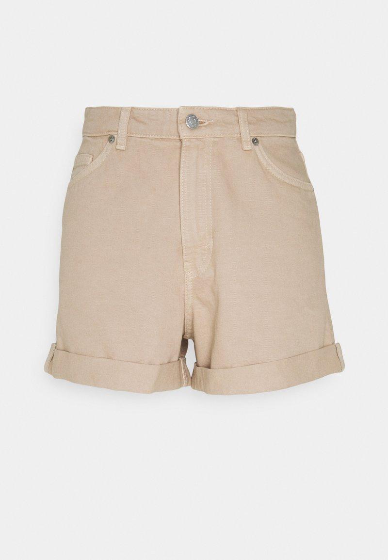 Monki - TALLIE - Jeansshorts - beige dusty light