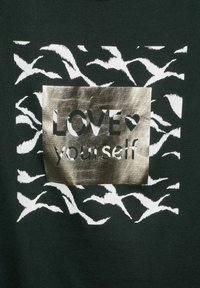Street One - MIT WORDING - Print T-shirt - grün - 4