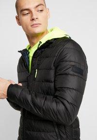 TOM TAILOR DENIM - LIGHTWEIGHT PADDED JACKET - Winter jacket - black - 6