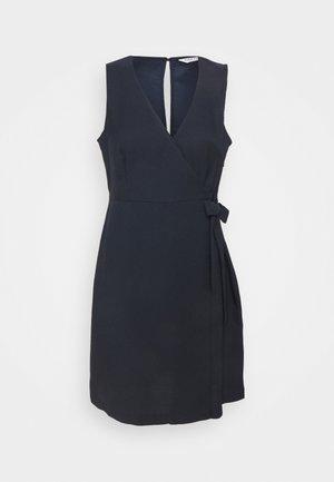 LAKAWAI - Shift dress - bleu marine