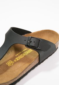 Birkenstock - GIZEH - Tongs - black - 5