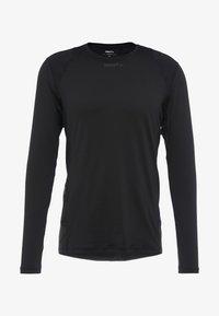 Craft - ESSENCE TEE - Långärmad tröja - black - 5