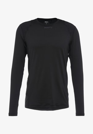 ESSENCE TEE - Long sleeved top - black