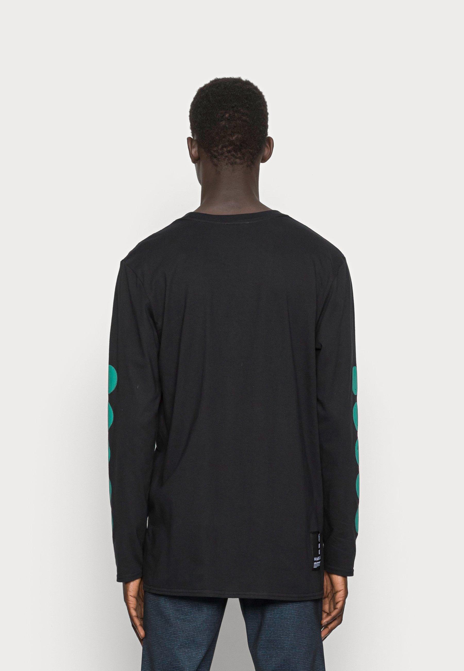 Uomo BLUR FACE SLEEVE - Maglietta a manica lunga