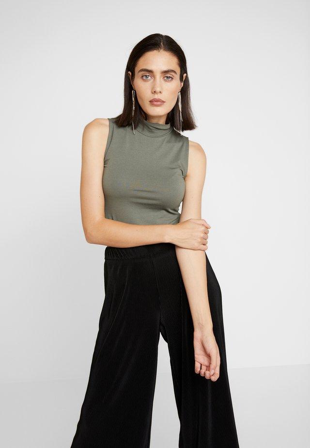 THEO - Top - dark khaki