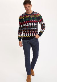 DeFacto - NEW YEAR - Jumper - navy - 1