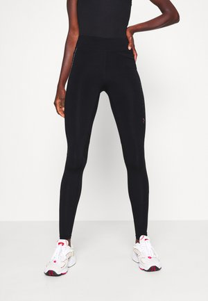 ONPPERFORMANCE RUN TIGHTS - Leggings - Trousers - black/red