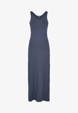LADIES LONG RACER BACK DRESS - Maxi dress - vintageblue