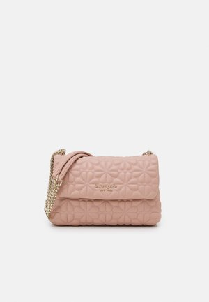 FLAP SHOULDER - Handbag - flapper pink