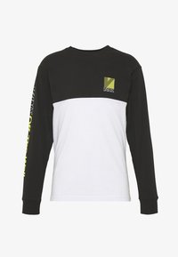 Vans - RETRO SPORT COLORBLOCK - Long sleeved top - white/black - 3