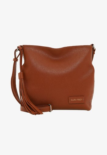 STACY - Handbag - cognac