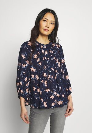 PINTUCK - Blouse - navy