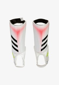 adidas Performance - PREDATOR  - Shin pads - white / pop - 0
