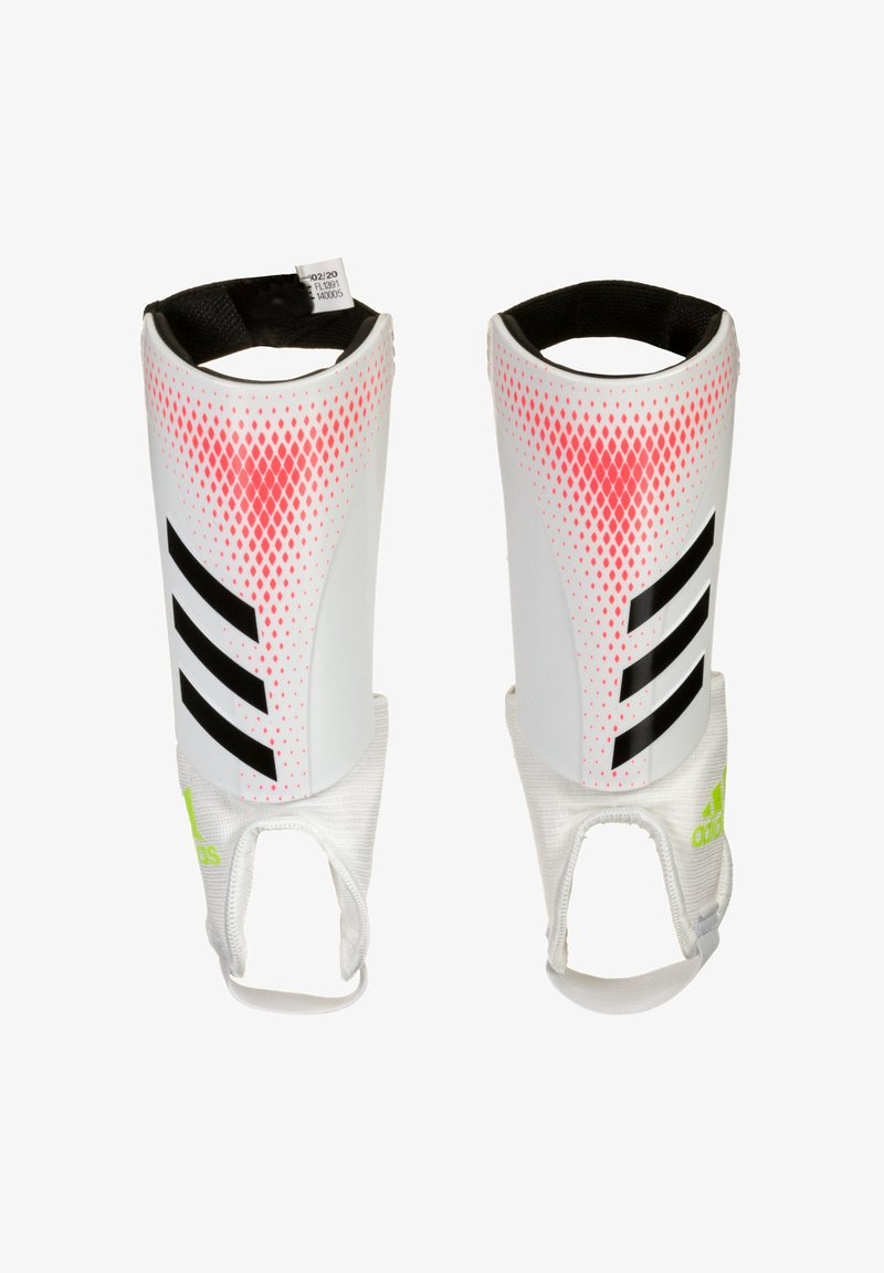 adidas Performance - PREDATOR  - Shin pads - white / pop