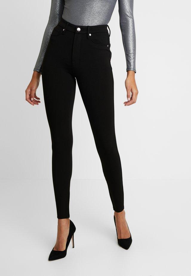 GOOD WAIST PONTE RIDING PANT - Trousers - black