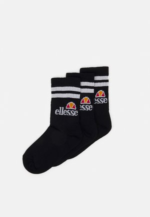 POLIERO 3 PACK UNISEX - Socks - black