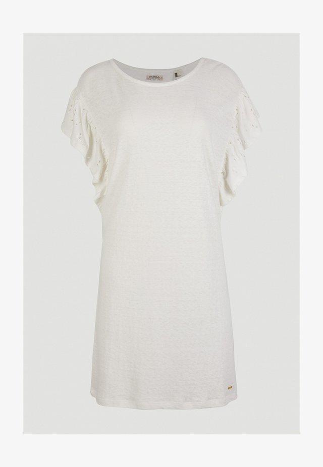 Jerseyjurk - powder white
