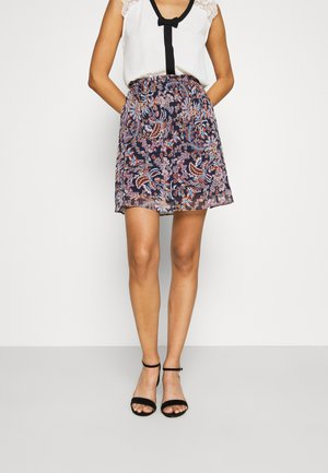ISA - Mini skirt -  bleu