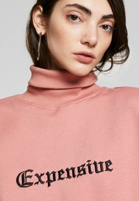 Missguided - HIGH NECK DRESS EXPENSIVE - Day dress - blush - 3