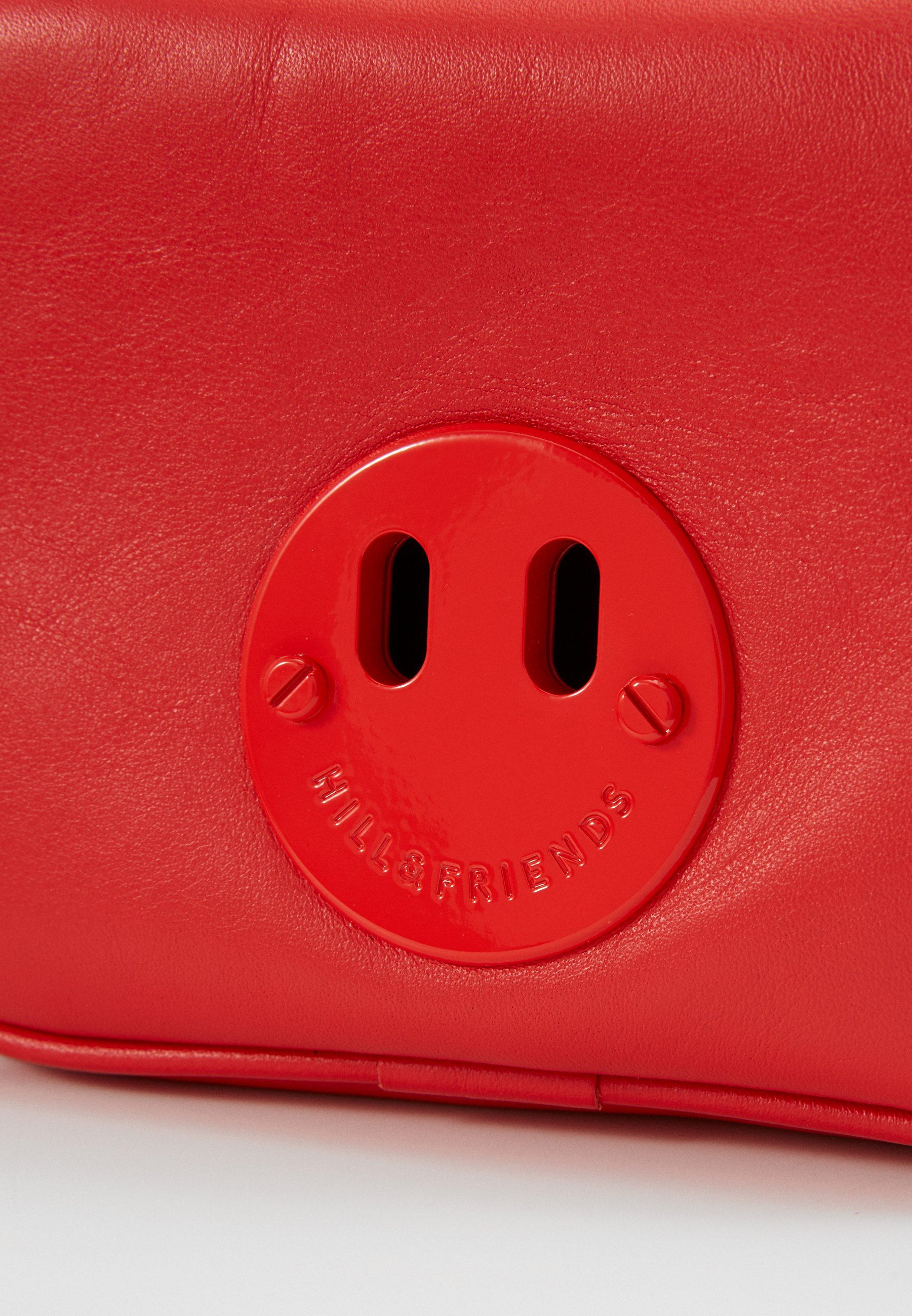 Hill & Friends HAPPY MINI CAMERA BAG Skulderveske red