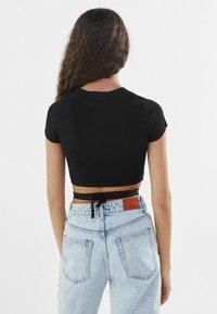 Bershka - T-Shirt print - black - 2