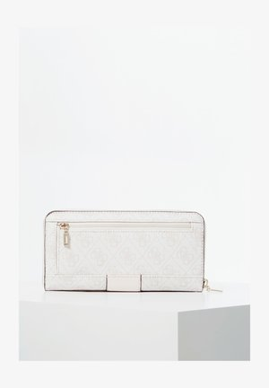 GUESS PORTEMONNAIE LOGO CITY ALLOVER-PRINT - Wallet - creme