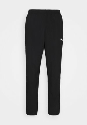 TEAMRISE SIDELINE PANTS - Trainingsbroek - black/white