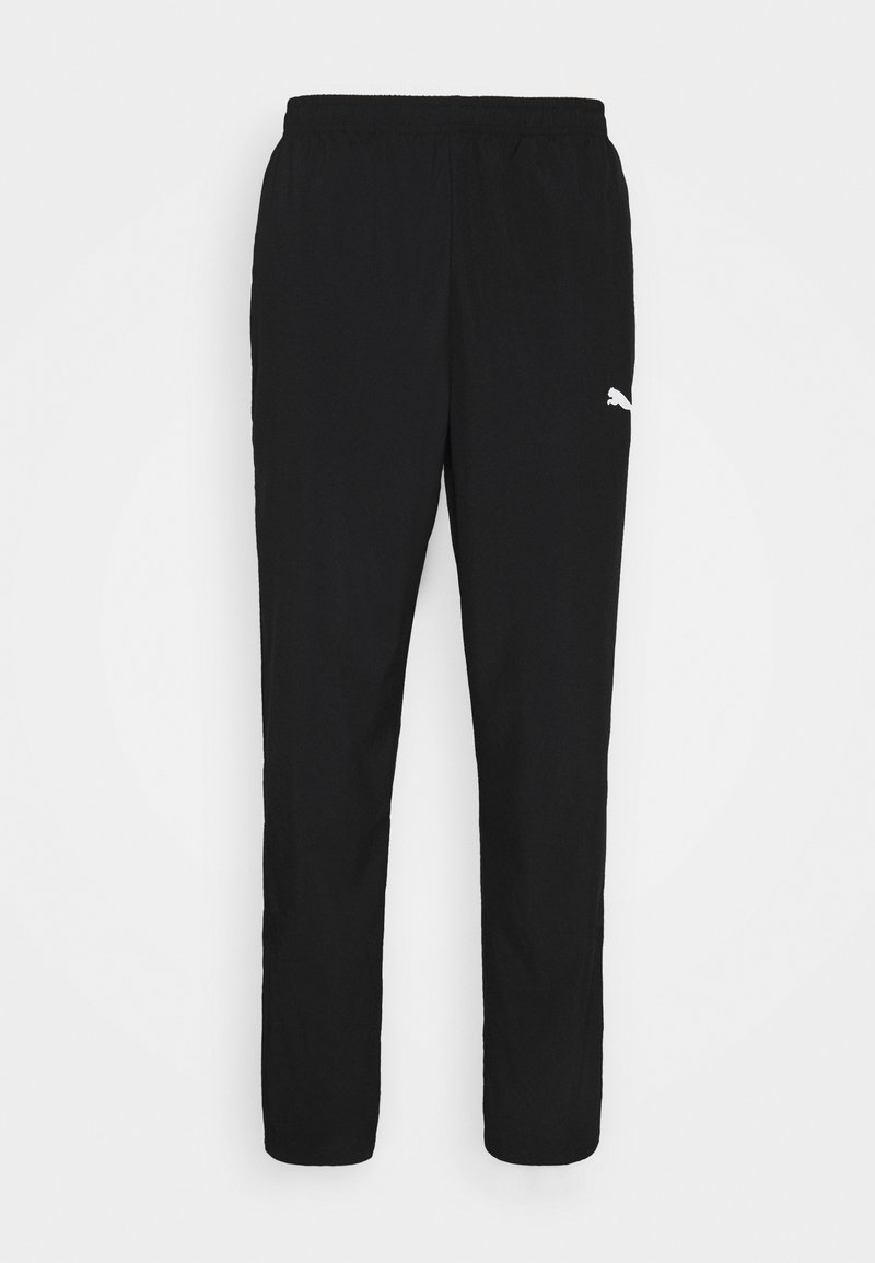 Puma - TEAMRISE SIDELINE PANTS - Verryttelyhousut - black/white