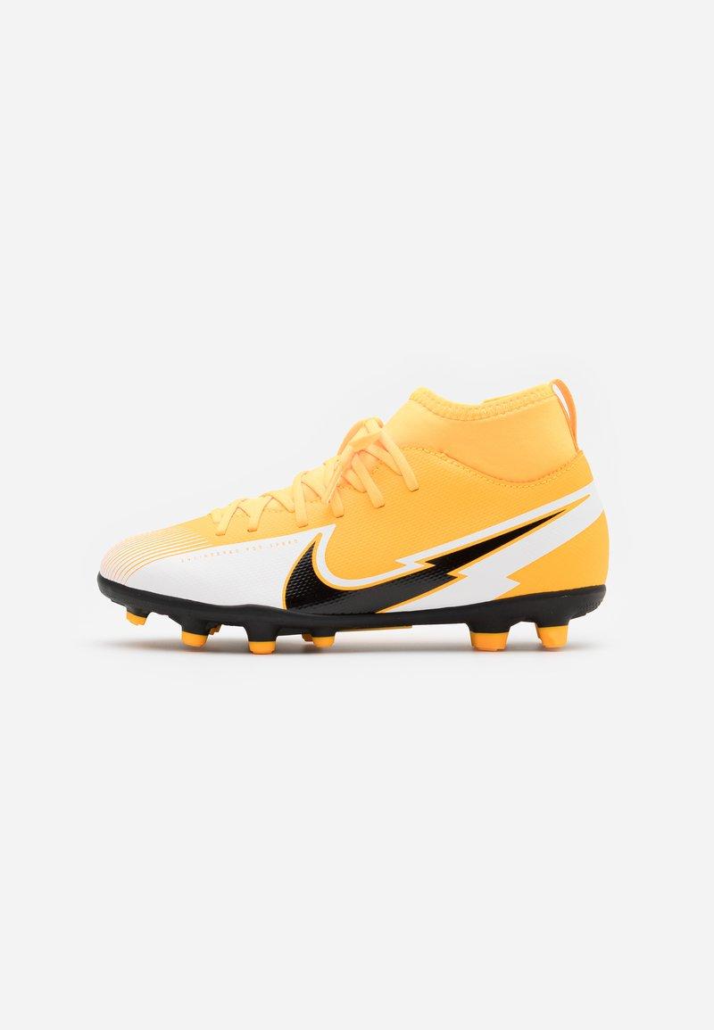 Nike Performance - MERCURIAL 7 CLUB FG/MG - Voetbalschoenen met kunststof noppen - laser orange/black/white