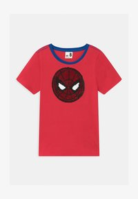 Cotton On - MARVEL SPIDERMAN SHORT SLEEVE LICENSE - Print T-shirt - lucky red - 0