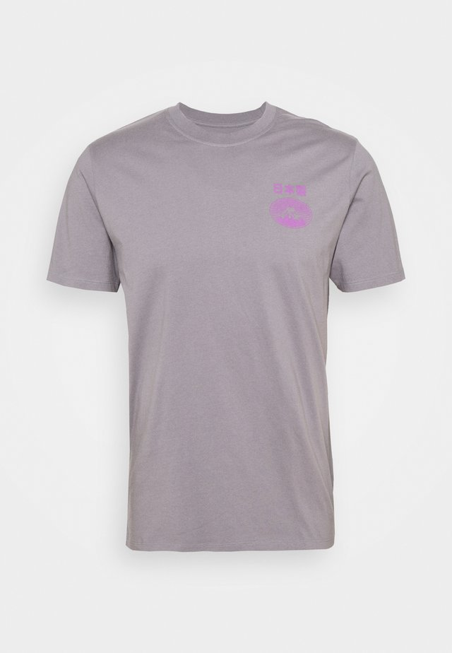 FUJI SAN UNISEX - T-shirt basique - frost grey