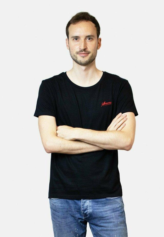 AMORE  - T-shirt basic - black