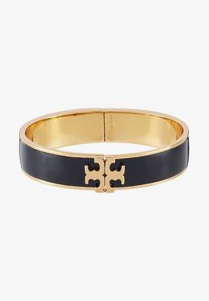 RAISED LOGO THIN HINGED BRACELET - Bracelet - black/gold-coloured