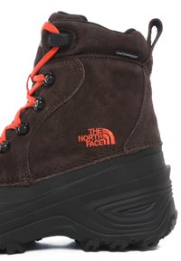 The North Face - Y CHILKAT LACE II - Śniegowce - coffee brown/flare - 5