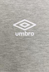 Umbro - SMALL LOGO TEE - Long sleeved top - grey marl - 2