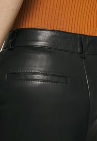 Part Two - GERTA - Leather trousers - black - 4