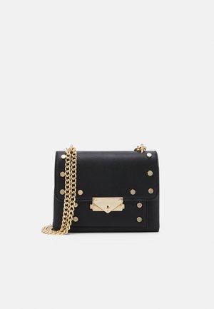 PCFINNA CROSS BODY - Across body bag - black/gold-coloured