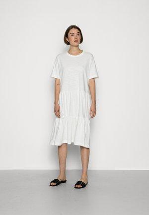 SLFRYLIE SHORT DRESS  - Jersey dress - snow white