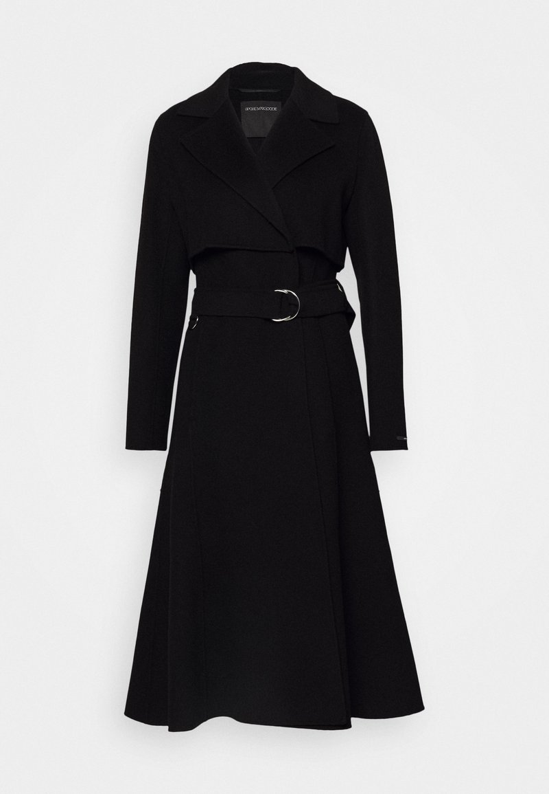 Sportmax Code - BALSAMO - Płaszcz wełniany /Płaszcz klasyczny - schwarz