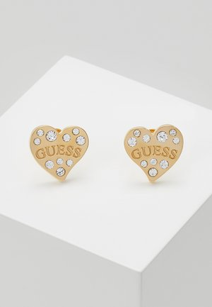HEART WARMING - Earrings - gold-coloured