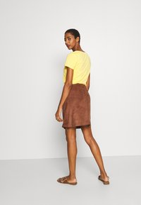Esprit - A-line skirt - brown - 2