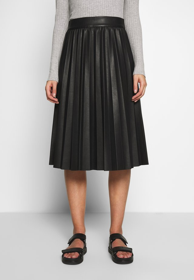 NEW SKIN STELPA - A-line skirt - black