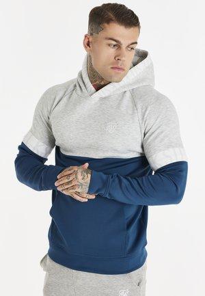 DYNAMIC FUNCTION OVERHEAD HOODIE - Sweatshirt - snow marl/navy